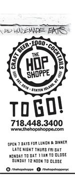 hop shoppe to go menu